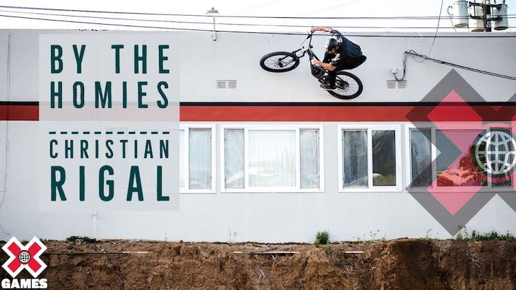 Christian Rigal By The Homies BMX video