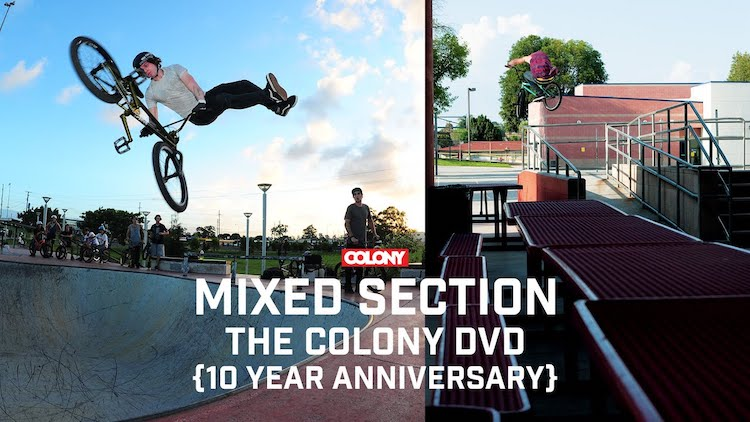 Colony BMX DVD Mix Section