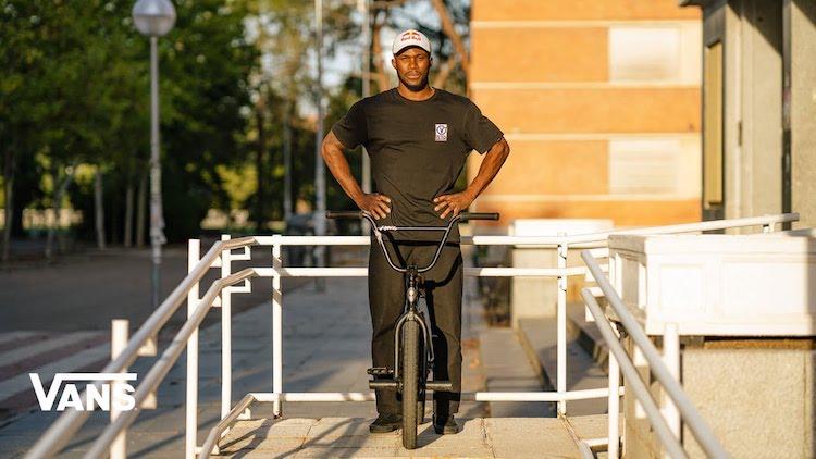 Courage Adams Vans Global BMX team