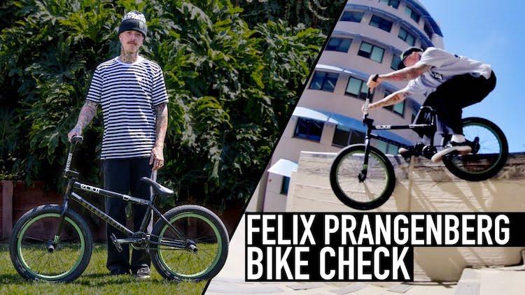 Felix Prangenberg 2021 BMX bike Check