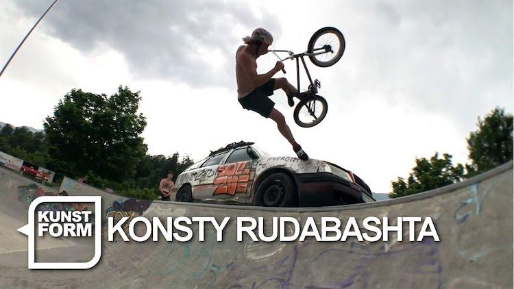 Kunstform Konsty Rudobashta BMX video