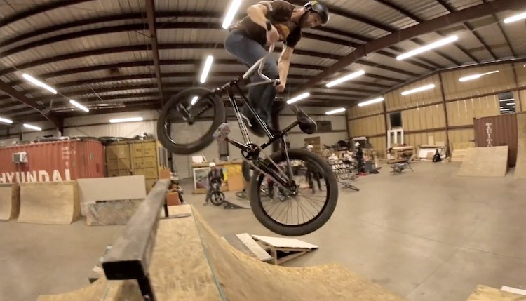 Nowear BMX Dan Nielsen Beastmode frame promo BMX