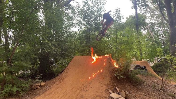 PA Woods 2021ish BMX video