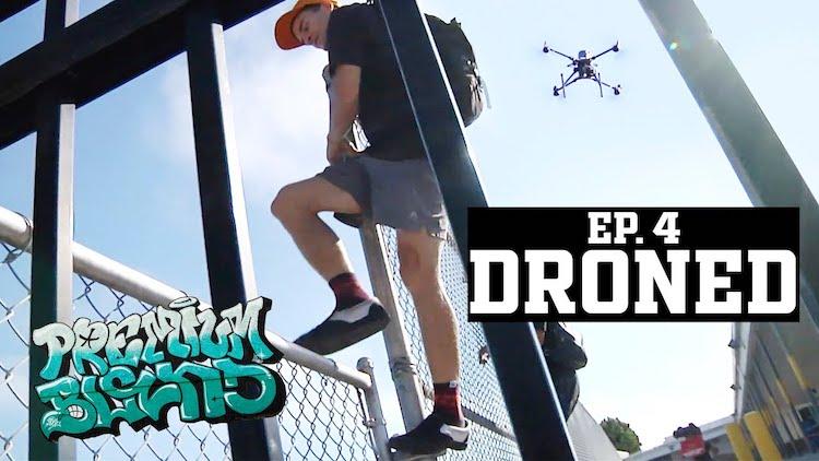 Premium Blend Droned BMX video