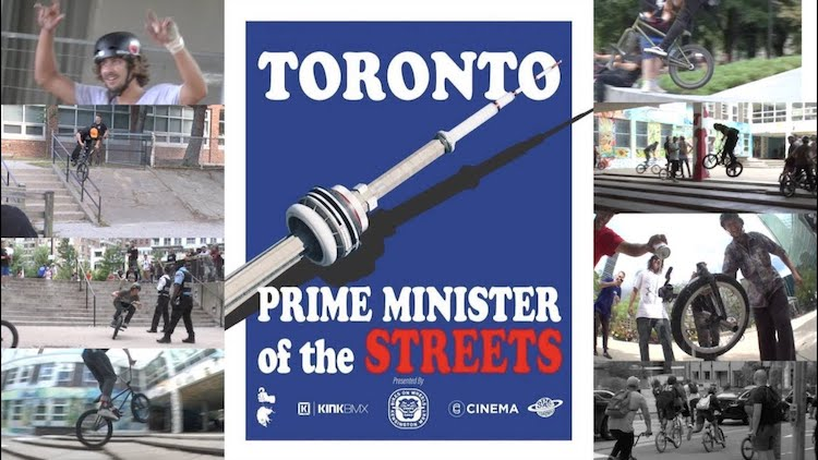 Prime Minister of the Streets BMX video