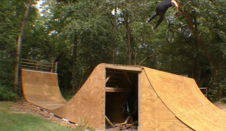 Steve Melton Backyard Ramps BMX