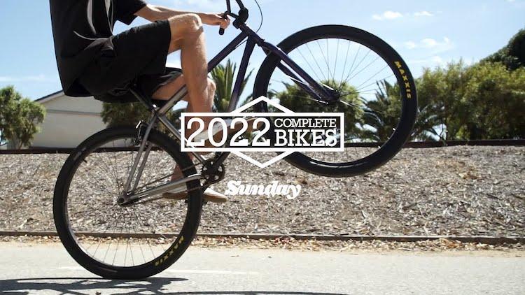 Sunday Bikes 2022 Complete BMX bikes Promo