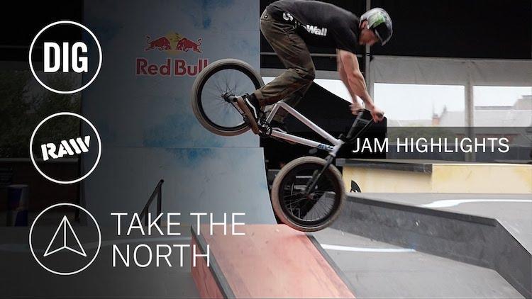 Take The North BMX contest