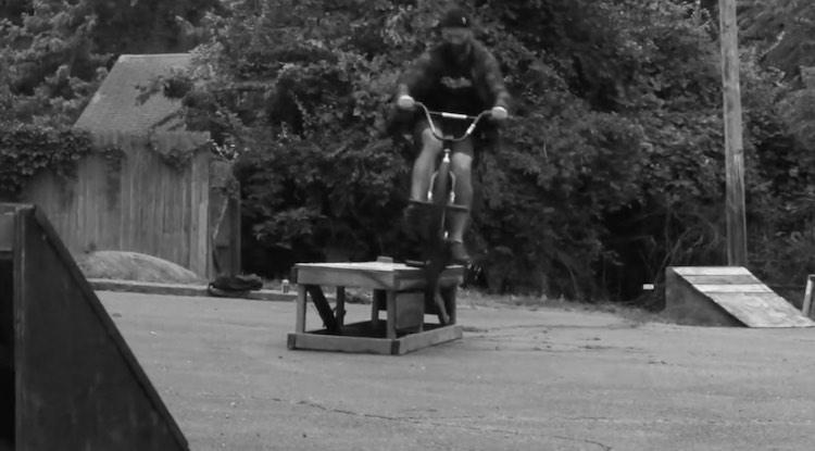 Tony Cherry Backyard Ledge BMX