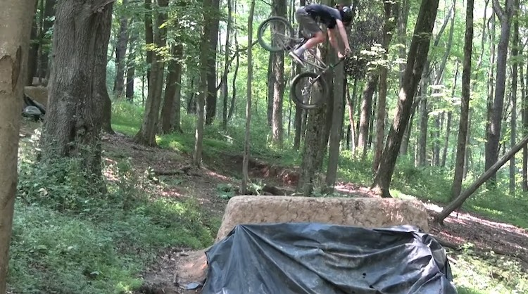 welcome to 9 acres bmx video