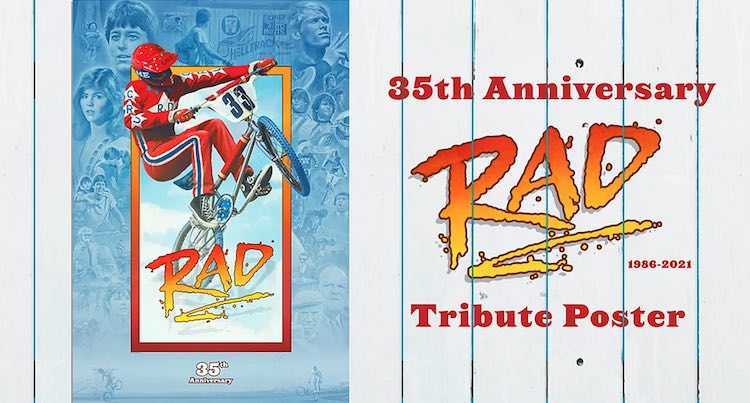 RAD 35th Anniversary Poster