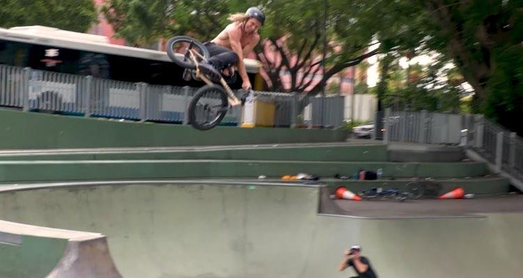 Boyd Hilder Alex Hiam BMX video
