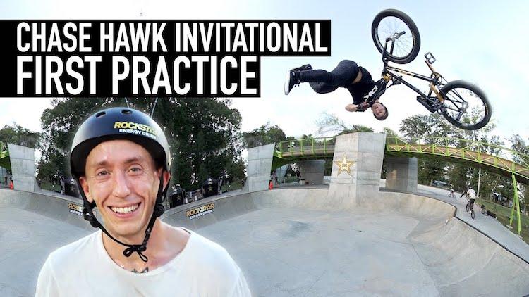 Chase Hawk Invitational 2021 BMX Practice