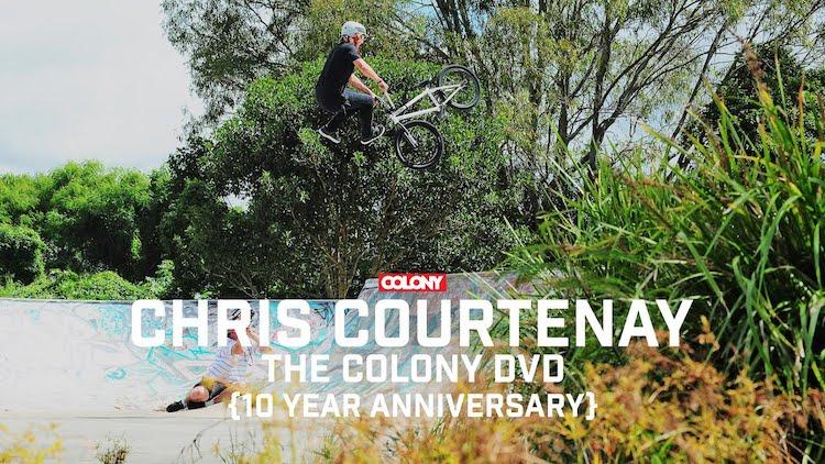 Colony BMX Chris Courtenay DVD section