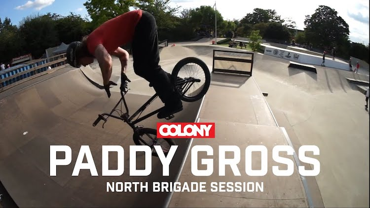 Colony BMX Paddy Gross Sessions