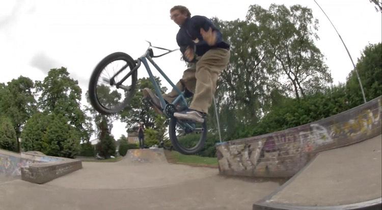 Dan Banks Day At The Skatepark