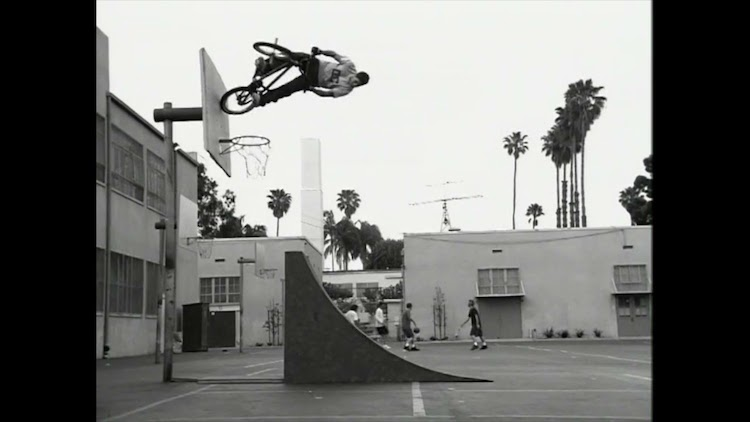 Dave Mirra DC Shoes Basketball Hoop Commercial