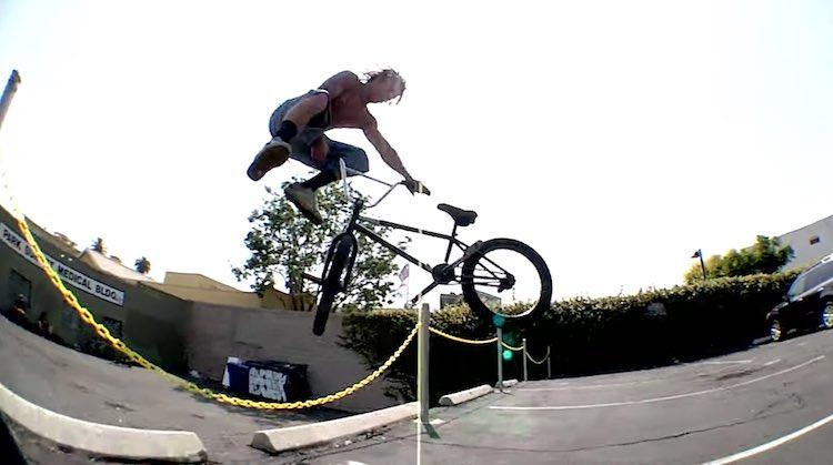 Primo Woods BMX video