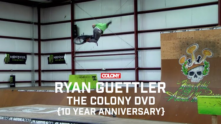 Ryan Guettler Colony DVD BMX video